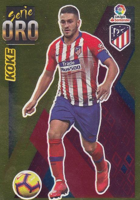 #3 Koke (Atletico De Madrid) Coleccion Liga Este 2019-20 SERIE ORO