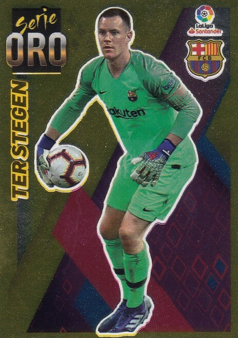 #14 Ter Stegen (FC Barcelona) Coleccion Liga Este 2019-20 SERIE ORO