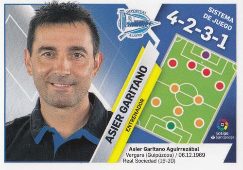 #2 Asier Garitano (Deportivo Alaves) Coleccion Liga Este 2019-20