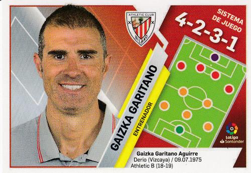 #4 Gaizka Garitano (Athletic Club Bilbao) Coleccion Liga Este 2019-20