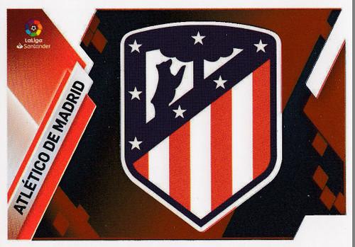 #5 Escudo (Atletico De Madrid) Coleccion Liga Este 2019-20