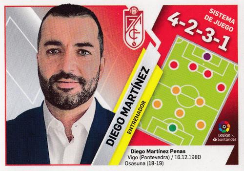 #20 Diego Martinez (Granada CF) Coleccion Liga Este 2019-20