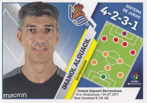 #32 Imanol Alguacil (Real Sociedad) Coleccion Liga Este 2019-20