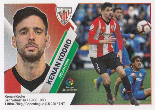 #16B Kenan Kodro (Athletic Club Bilbao) Coleccion Liga Este 2019-20