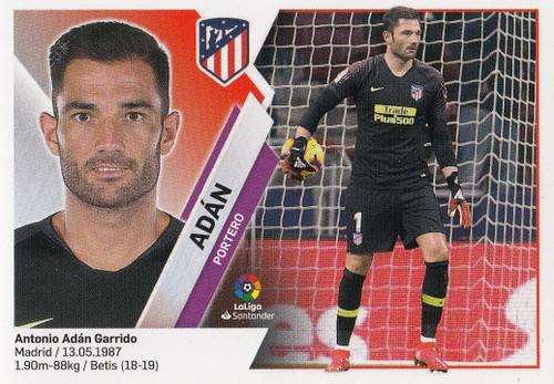 #2 Adan (Atletico De Madrid) Coleccion Liga Este 2019-20