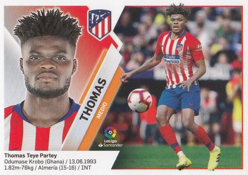 #12A Thomas (Atletico De Madrid) Coleccion Liga Este 2019-20