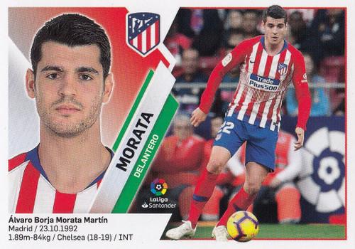 #14 Morata (Atletico De Madrid) Coleccion Liga Este 2019-20