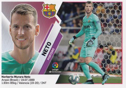 #2 Neto (FC Barcelona) Coleccion Liga Este 2019-20