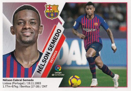 #3A Nelson Semedo (FC Barcelona) Coleccion Liga Este 2019-20