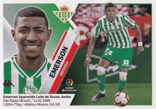 #4B Emerson (Real Betis) Coleccion Liga Este 2019-20