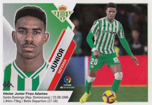 #8 Junior (Real Betis) Coleccion Liga Este 2019-20
