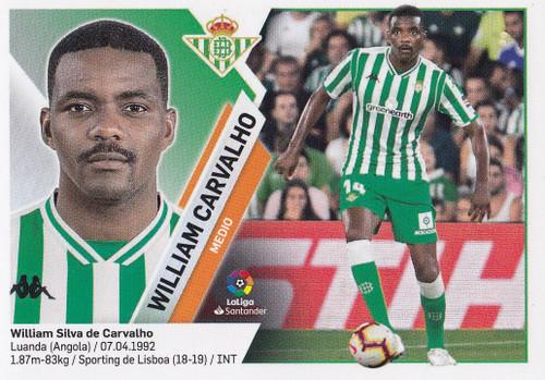 #9 William Carvalho (Real Betis) Coleccion Liga Este 2019-20