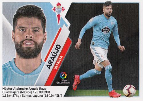 #4 Araujo (RC Celta) Coleccion Liga Este 2019-20