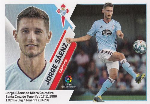 #6 Jorge Saenz (RC Celta) Coleccion Liga Este 2019-20