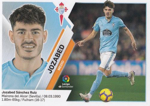 #10B Jozabed (RC Celta) Coleccion Liga Este 2019-20