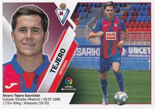 #3 Tejero (SD Eibar) Coleccion Liga Este 2019-20