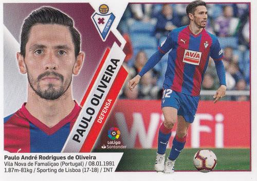 #6 Paulo Oliveira (SD Eibar) Coleccion Liga Este 2019-20