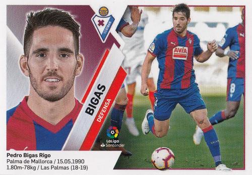 #7 Bigas (SD Eibar) Coleccion Liga Este 2019-20