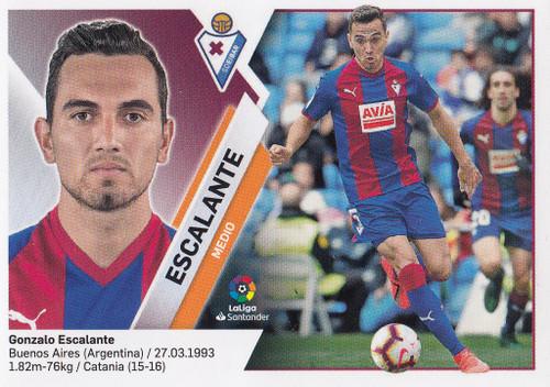 #9 Escalante (SD Eibar) Coleccion Liga Este 2019-20