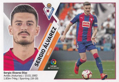 #10 Sergio Alvarez (SD Eibar) Coleccion Liga Este 2019-20