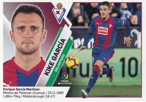 #14 Kike Garcia (SD Eibar) Coleccion Liga Este 2019-20