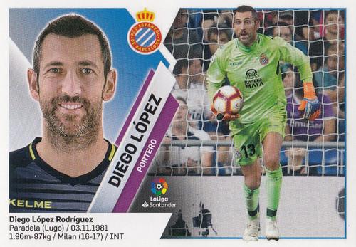 #1 Diego Lopez (RCD Espanyol) Coleccion Liga Este 2019-20