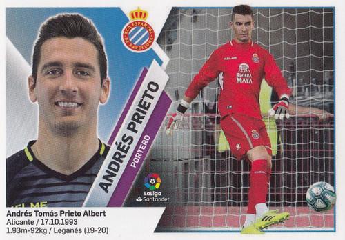 #2 Andres Prieto (RCD Espanyol) Coleccion Liga Este 2019-20