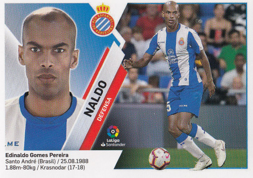 #6 Naldo (RCD Espanyol) Coleccion Liga Este 2019-20