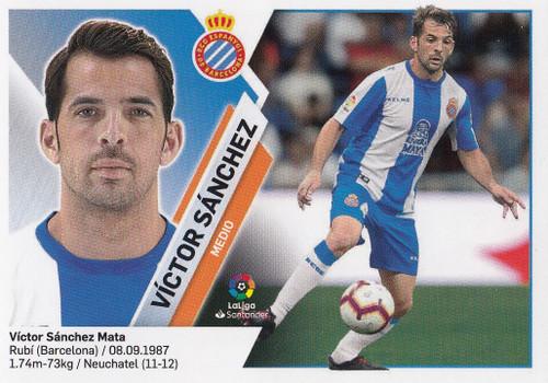 #9A Victor Sanchez (RCD Espanyol) Coleccion Liga Este 2019-20