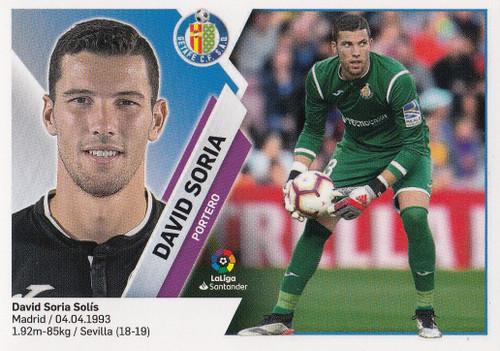 #1 David Soria (Getafe CF) Coleccion Liga Este 2019-20