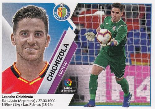 #2 Chichizola (Getafe CF) Coleccion Liga Este 2019-20