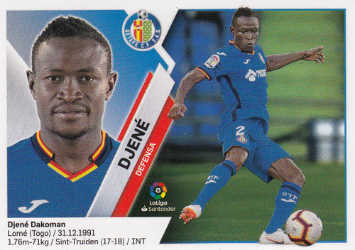 #4 Djene (Getafe CF) Coleccion Liga Este 2019-20