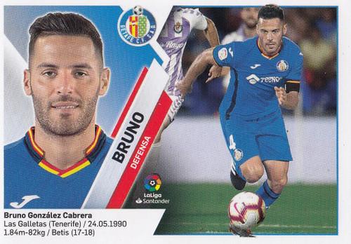 #6A Bruno (Getafe CF) Coleccion Liga Este 2019-20