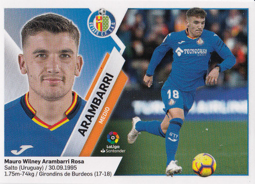 #8 Arambarri (Getafe CF) Coleccion Liga Este 2019-20