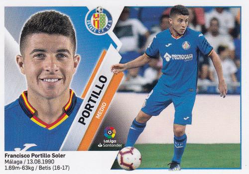 #11 Portillo (Getafe CF) Coleccion Liga Este 2019-20