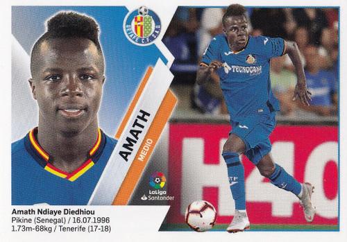 #12 Amath (Getafe CF) Coleccion Liga Este 2019-20