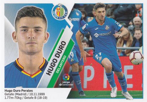#13 Hugo Duro (Getafe CF) Coleccion Liga Este 2019-20