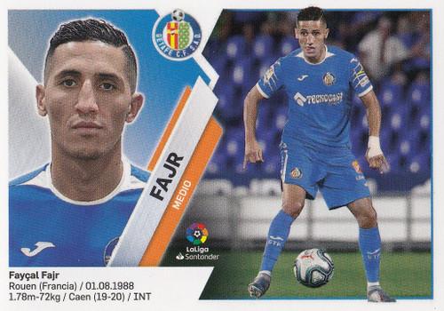 #13bis Fajr (Getafe CF) Coleccion Liga Este 2019-20