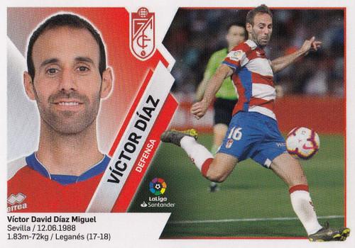 #3 Victor Diaz (Granada CF) Coleccion Liga Este 2019-20