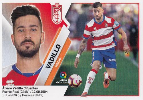 #11 Vadillo (Granada CF) Coleccion Liga Este 2019-20