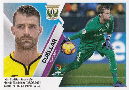 #1 Cuellar (CD Leganes) Coleccion Liga Este 2019-20