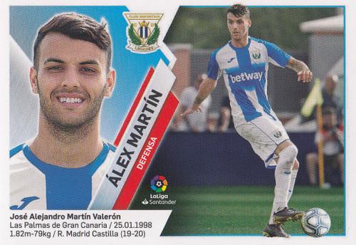 #3 Alex Martin (CD Leganes) Coleccion Liga Este 2019-20