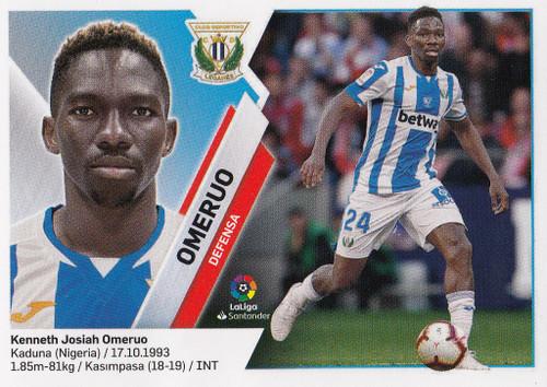 #6 Omeruo (CD Leganes) Coleccion Liga Este 2019-20