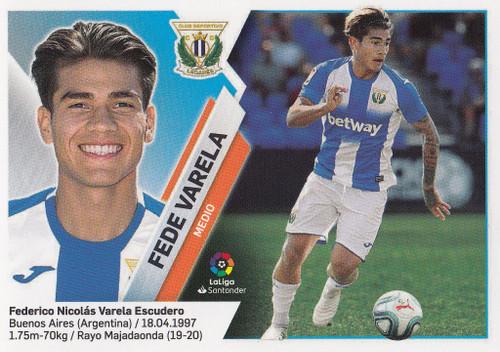 #9bis Fede Varela (CD Leganes) Coleccion Liga Este 2019-20