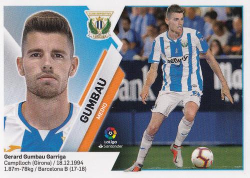 #10 Gumbau (CD Leganes) Coleccion Liga Este 2019-20