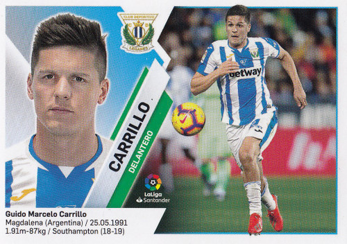 #14A Carrillo (CD Leganes) Coleccion Liga Este 2019-20