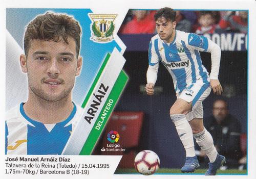 #14B Arnaiz (CD Leganes) Coleccion Liga Este 2019-20