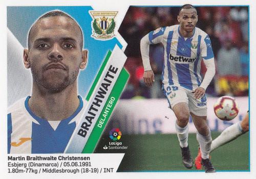 #15 Braithwaite (CD Leganes) Coleccion Liga Este 2019-20