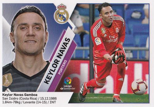 #2 Keylor Navas (Real Madrid) Coleccion Liga Este 2019-20