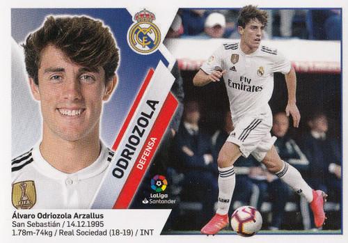 #4B Odriozola (Real Madrid) Coleccion Liga Este 2019-20